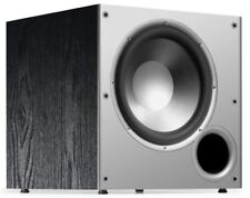 Polk Audio PSW10 SUBWOOFER, 10-Inch Deep Bass Powered Single SUBWOOFER, Black