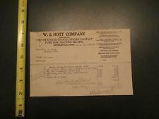 W S Nott Company Minneapolis MN 1922 Letterhead 330