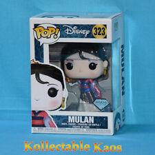 Funko Pop Disney Mulan Diamond Collection #323 Vinyl Figure