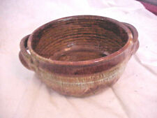 DRYDEN POTTERY BOW L /HANDLES ORIGINAL FRONTIER 85 MARKED