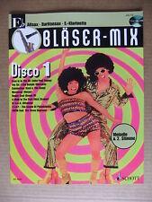 MANGEL Bläser Mix Disco 1 in Eb für Alt-Saxofon Alto Saxophone Noten mit CD
