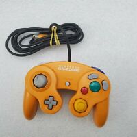 """B"" Official Nintendo Orange Spice Gamecube Controller | OEM DOL-003 Clean Japan"