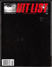 Hit List Magazine November December 2000 Napster Jeff Bale Larry Livermoore