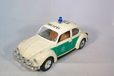 MEBETOYS 8587 VW VOLKSWAGEN BEETLE MAGGIOLONE POLIZEI MINT RARE SELTEN RARO!!!