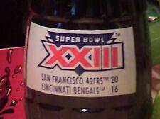 Super Bowl XXIII coke bottle