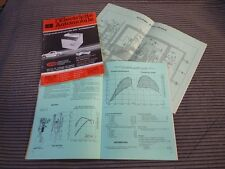L'Electricité Automobile n° 424. Skoda 1000MB - 1100MB - S100 - S110