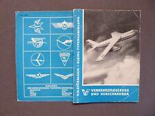 Luftfahrt, Verkehrsflugzeuge & Hubschrauber, Kleine Typensammlung, Eyermann 1959