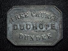 Dundee, Angus, Scotland, Dudhope Free Church - Communion Token - Bu.2134