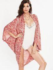 Women Swimwear Floral Cover Up Kaftan Summer Shirt Dress Beachwear Bikini Beach