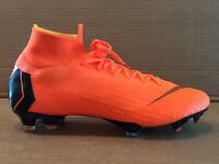 Nike Mercurial Superfly 6 Elite Fg orange size 12.5