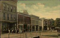McGraw NY Main St. West c1910 Postcard