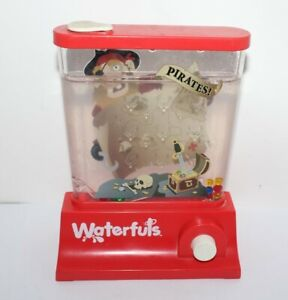 Waterfuls Pirates Game Made By Tomy 80's / 90's Water Skill Game