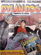 "Dylan Dog SPECIALE n. 8 "" Labirinti di paura  "" + albo "" Groucho "" ed. Bonelli"