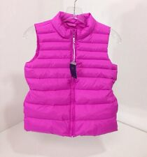 GAP KIDS GIRLS QUILTED VEST YOUTH LIGHT FUCHSIA XL NWT