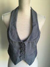 Atmosphere Waist Length Button Waistcoats for Women