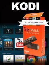 🔥 CUSTOM Amazon Fire TV Stick 2nd Gen Alexa Voice Remote Firestick KODI 17.6 🔥