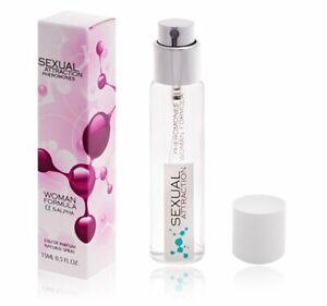Sexual Attraction Perfum mit Feromonen für Frauen 15ml