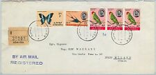 65067 - ETHIOPIA - POSTAL HISTORY - LARGE COVER to ITALY 1967  BIRDS Butterflies