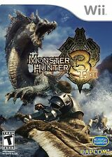 Wii Game Monster Hunter Tri 3 NEW
