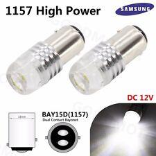 2x 1157 BAY15D High Power 1 COB Samsung Chip SMD LED Tail Stop Brake Strobe Bulb