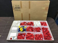 Vintage 1960's Lego Set In Original Shipping Box 701 Pieces 4419 Samsonite