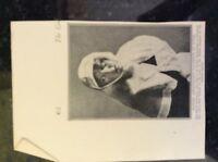 m17c5 ephemera ww1 picture miss meriel buchanan nurse british ambassador