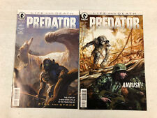 Predator #1 and #2 Life and Death  -Comic Book Lot- Visit My Store