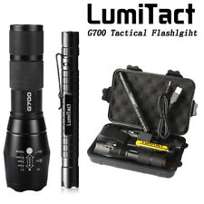 8000lm Genuine Lumitact G700 Cree L2 LED Tactical Flashlight Military Torch