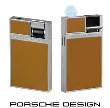 Porsche Design P3632/05 braun Feuerzeug mit Flat-Flame & einzigartigem Design