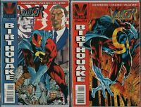 THE VISITOR #4 #5 Valiant Comics 1995   VanHook / Bernard Chang  NM   ref:F1.409