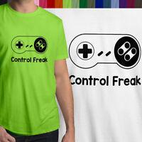 Control Freak SNES Super Nintendo Retro Gaming Controller Men Tee Unisex T-Shirt