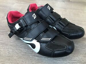 Peleton Bike / Cycle Shoes With Red Cleats PL-SH-02 F-17 Size 40