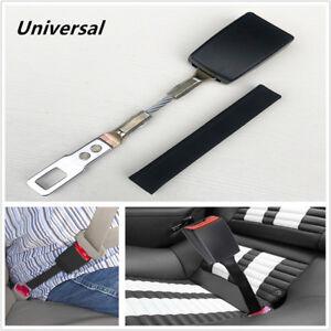 1PC Car SUV Seat Belt Extender 25cm High Strength Nylon Safety Buckle Clip Black