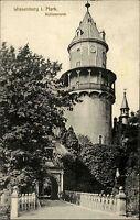 WIESENBURG Mark Brandenburg AK gebraucht um 1912 Schlossturm Partie am Schloss
