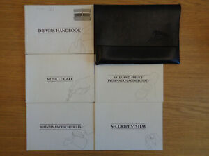 Jaguar XJ6 XJ Owners Handbook/Manual and Wallet 94-97