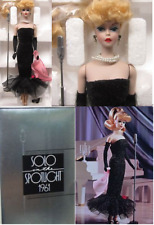 Barbie 7613 Porcelain Collection solo in The Spotlight 1961- Mattel 1989