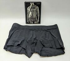 Calvin Klein Black Low Rise Trunk Luxurious Microfiber L U1751-001 Underwear