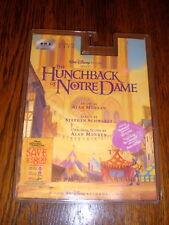 The Hunchback Of Notre Dame CASSETTE Disney soundtrack SEALED