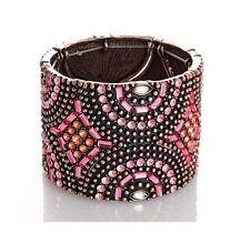 Brand New TWIGGY LONDON Bracelet  Mosaic design Gorgeous Pinks