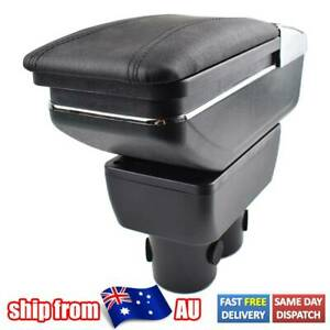 For Suzuki Jimny 2000-2017 Dual Console Leather Armrest Central Console Box