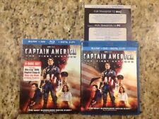 Captain America: The First Avenger (Blu-ray/DVD, 2011, 2-Disc)Authentic US