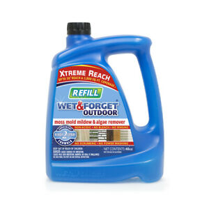 Wet & Forget 805048RF Clear Yellow Outdoor Hose End Refill Liquid 48 oz.