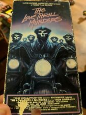 The Love-Thrill Murders (VHS, 1986) Vestron Video TROMA MANSON FAMILY RIPOFF!!!