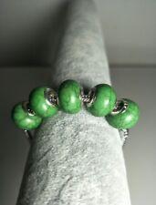 NEW 5pcs silver  tophus big hole spacer beads fit Charm European Bracelet DIY