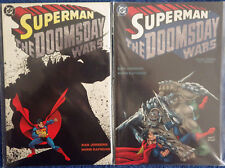 Superman: The Doomsday Wars 1 2 3 Complete! Jurgens! Rapmund! - High Grade!