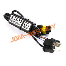 Hid relay wiring kit bi xenon ebay 1pc relay wiring h49003 bi xenon hilo motorcycle hid kit harness sciox Images