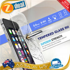 TEMPERED GLASS SCREEN PROTECTOR GUARD FILM Apple iPhone 5, 5C, 5S -  AUS SELLER