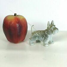 "Charming Little 3.5"" Japanese Porcelain terrier figurine"