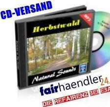 CD-VERSAND - HERBSTWALD Naturgeräusche natural Nature Sounds 6 Audio 1A E-Lizenz