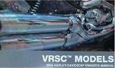2008 Harley VRSC VROD V-ROD VRSCDX VRSCAW Owner's Owners Owner Manual NEW 36-08